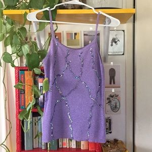 Vintage Sequined Camisole